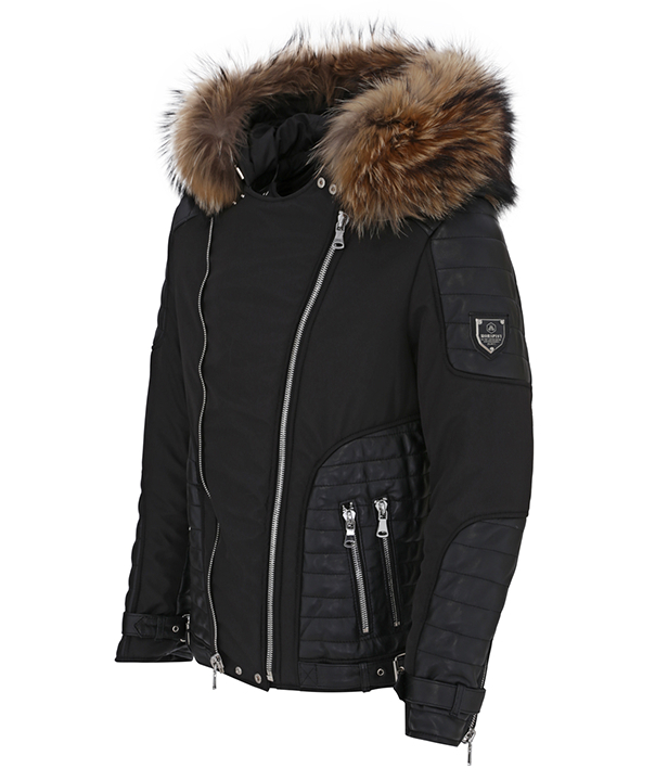 Hors Piste manteau cuir