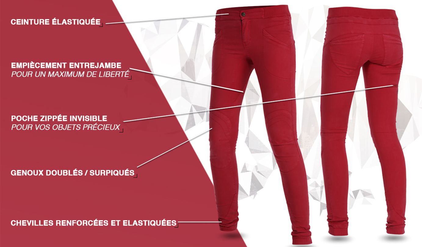 Description_pantalon - femme