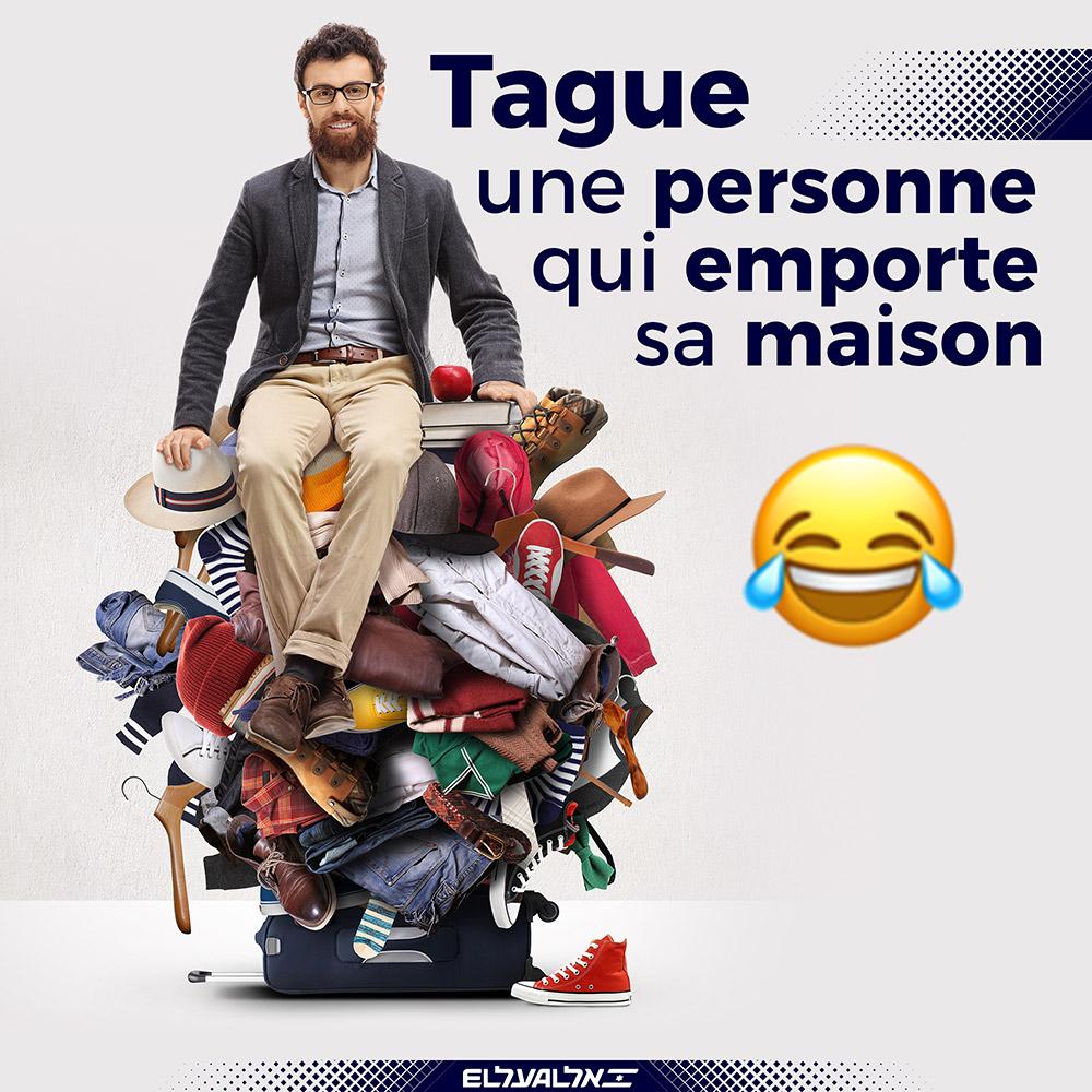 TAGUE-bagage
