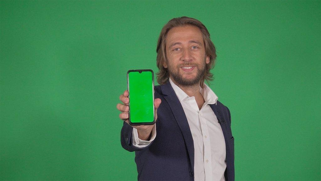 shooting fond vert